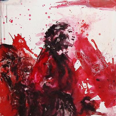starkte Frauen bilder abstrakt