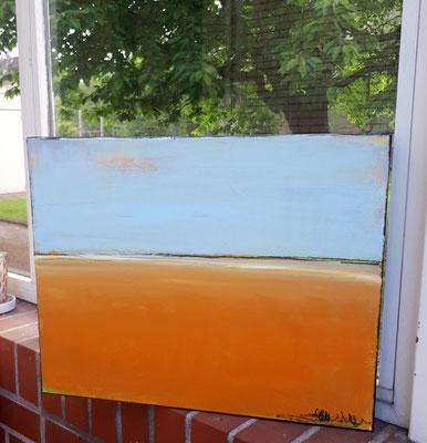 Frische Luft - Bild orange