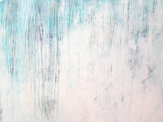 weisse abstrakte Gemälde