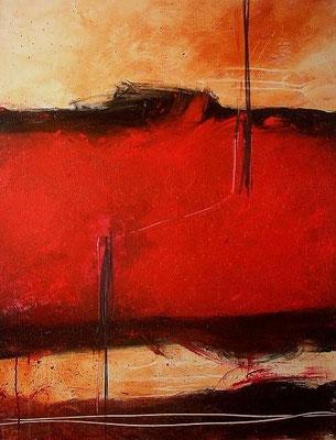 Bild rot abstrakt