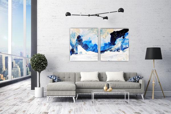 große Bilder Gemälde