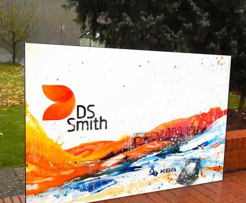 DS Smith Eingangsbereich Gemälde