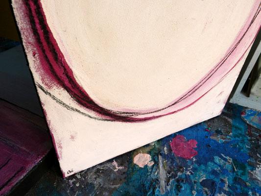 Bild in rosa Kreise