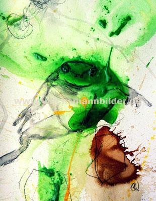 grün - gelb Frösche