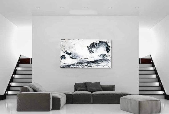 abstrakte Bilder s/w