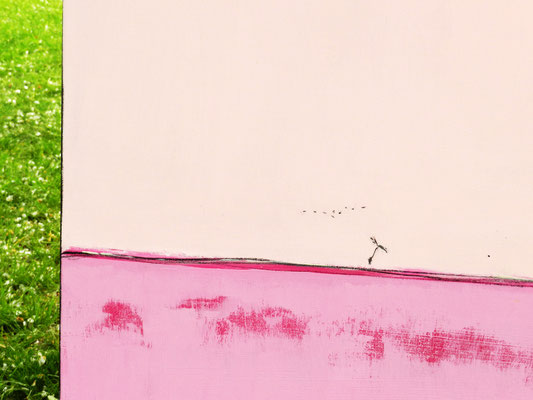 Dezal rosa Gemälde