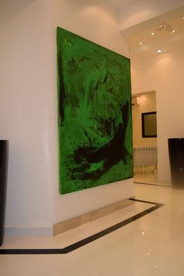 auftragsmalerei grünes Bild