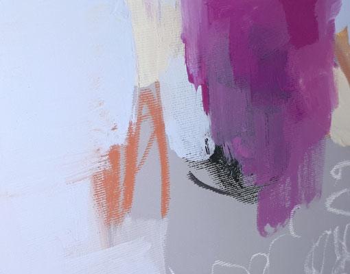 abstraktes Malerei pastell