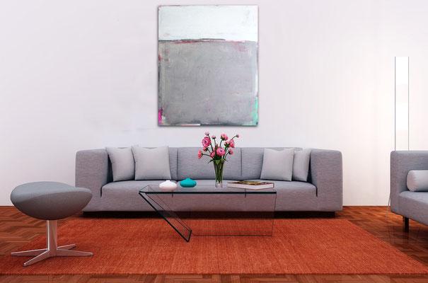 grey painting abstarct