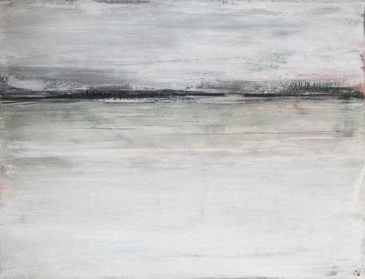 graues Gemälde bild