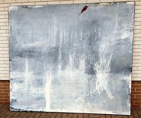 abstraktes Bild 230 x 200 cm