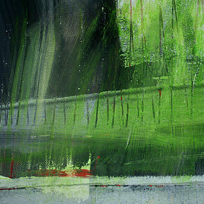 grünes detail vom Bild