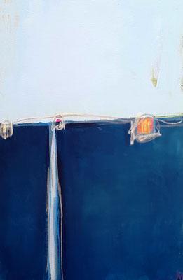 Moderne Gemälde blaue Farben