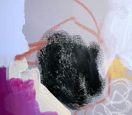 detail pastell Grüner Wachs