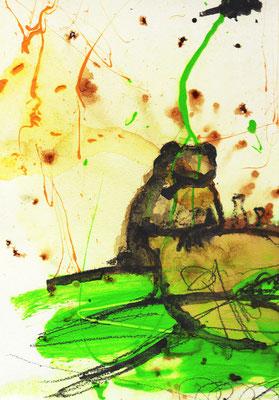 frosch in den Kneipe