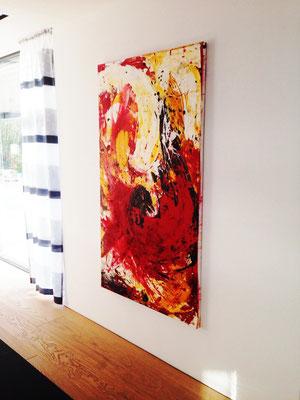 abstrakte Bild groß
