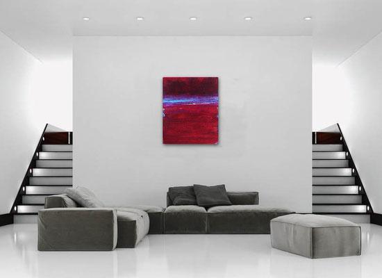 moderne rotes Bild