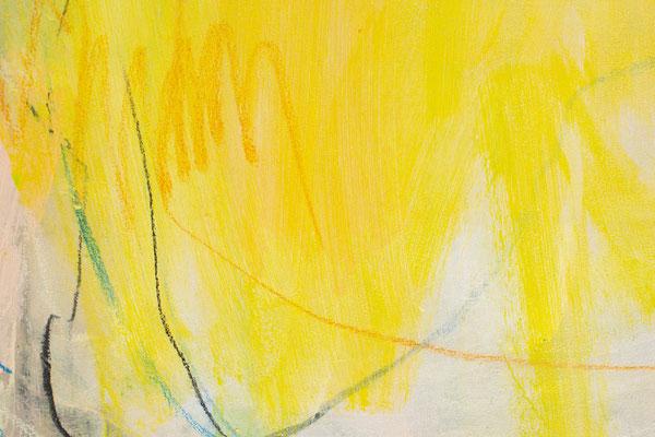 gelbes Bilder 100 x 80 cm
