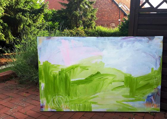 Auf der grünen Wiese