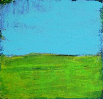 landschaft abstrakt beruhigend blau grün