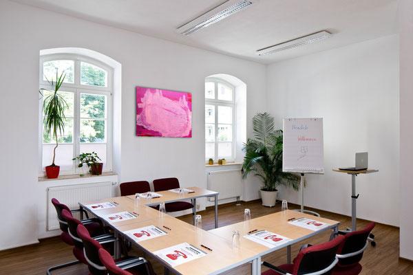 kunst Malerei wachsmann pink