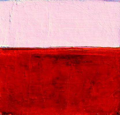 rotes rosa Gemälde