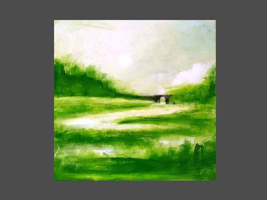 Frischluft - Bild grün