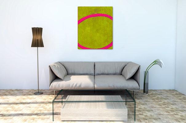 Acryl grün