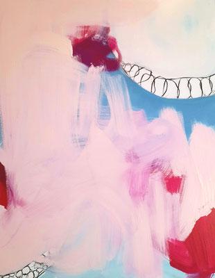 rosa bild abstrakt