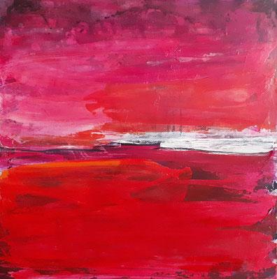rotes Bild abstrakt