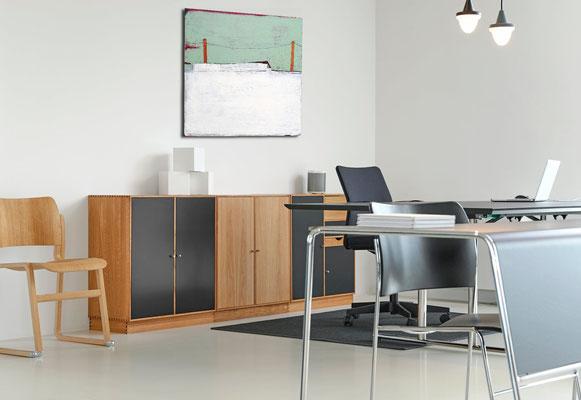 Bild 80 x 80 cm Büro