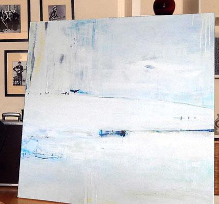 weiße Kunst Malerei