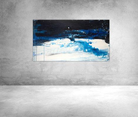 abstrakte Malerei mir Raumbeispiel