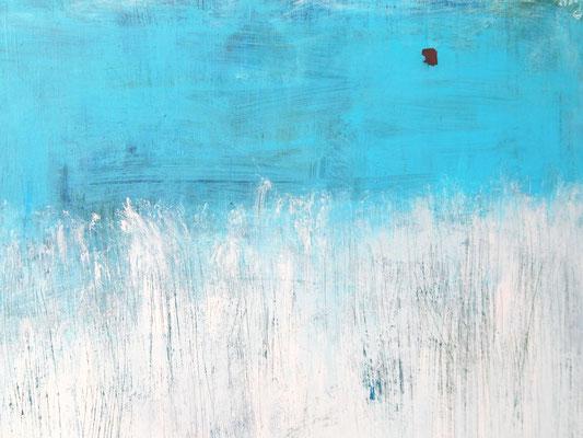 Detail Bild weiss blau