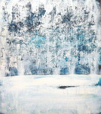 Winterwald - 120 x 90 cm