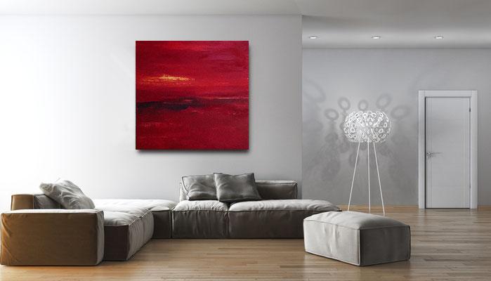 rote Bilder landschaft