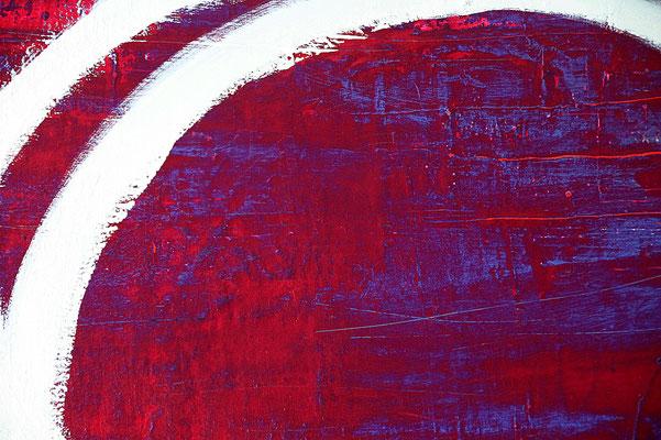 detail rotes bild lila