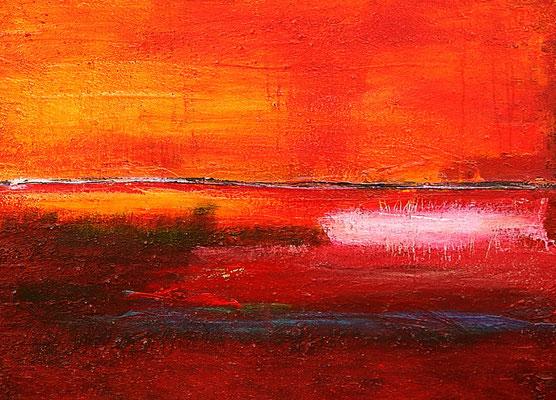bild in orange - abstrakt