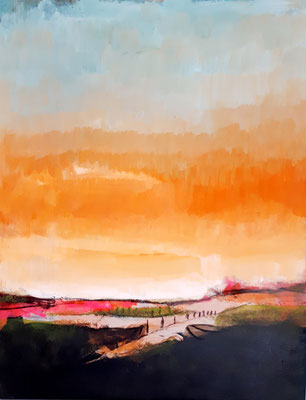 bild orange Landschaft