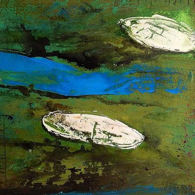 Vogelperspektive Gemälde abstrakt