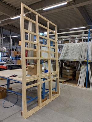 Rahmentheke - Keilrahmen werden direkt angefertigt
