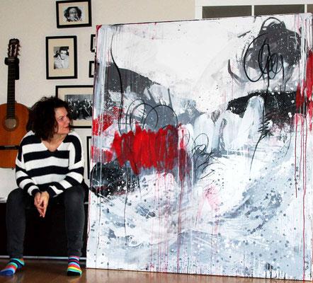 Kunst Malerei große bilder