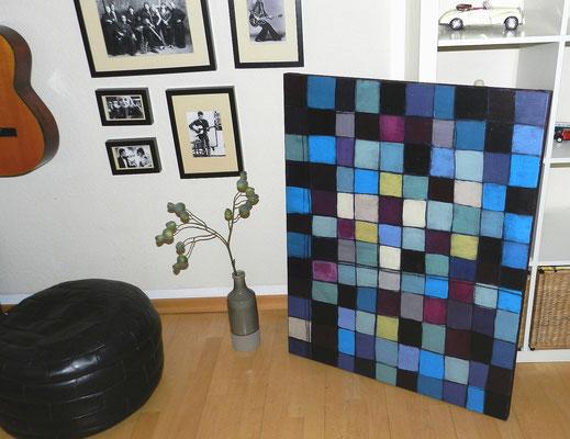 gemalte Quadrate