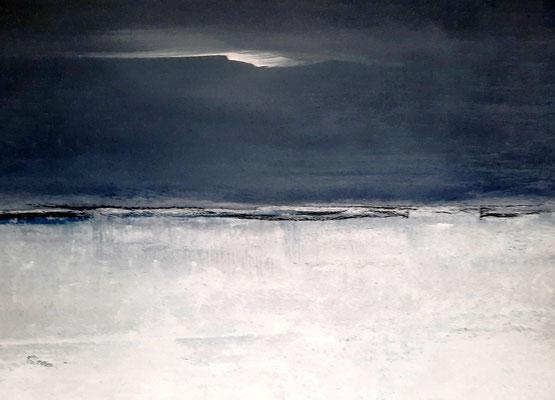 Landschaftsbild weiss-grau