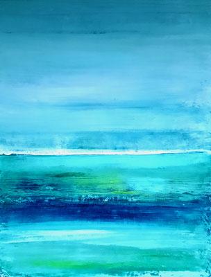 blaues Bild Landschaft