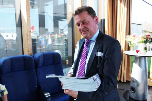 Roger Blaser ( Verantwortlicher für PREMIO Schweiz )