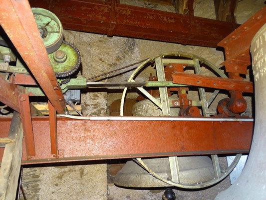 Unsere alte Läutemaschine