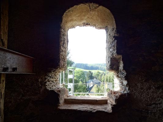 Öffnung im Turm