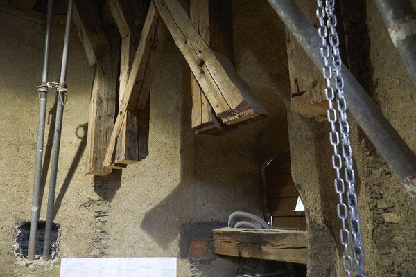 10.10.2016 Herr Müller zeigt uns die Baustelle-Glockenstube