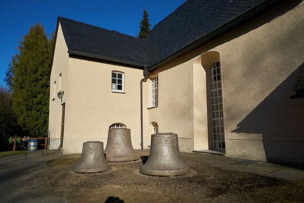 endgültiger Standort der alten Glocken